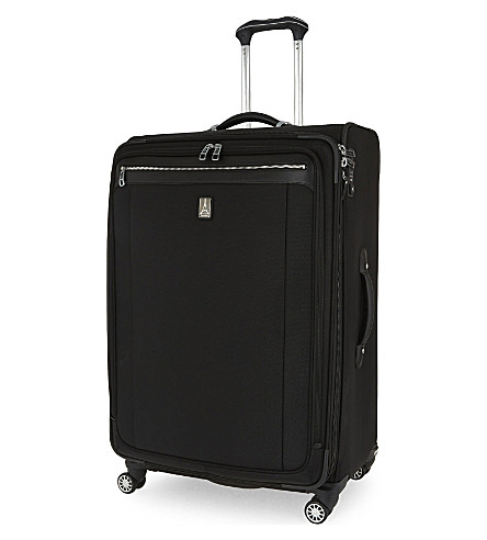 TRAVELPRO 白金麦格纳 2 四轮可膨胀手提箱 83厘米 (黑色