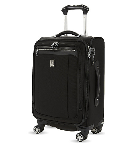 TRAVELPRO Platinum Magna 2 Business Plus four-wheel expandable suitcase 60cm (Black