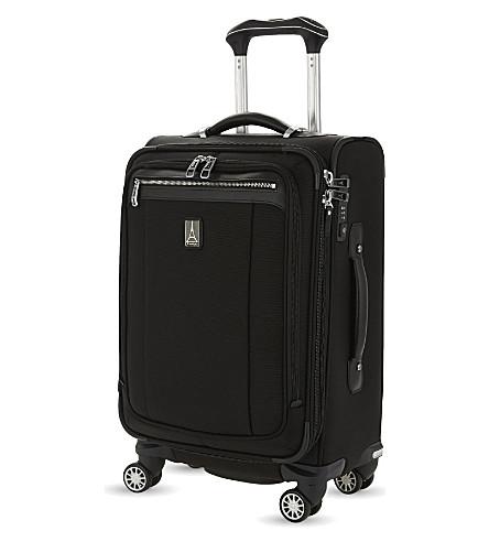 TRAVELPRO Platinum Magna 2 Business Plus four-wheel expandable suitcase 60cm (Black