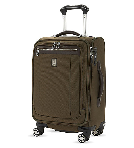 TRAVELPRO Platinum Magna 2 Business Plus four-wheel expandable suitcase 60cm (Olive