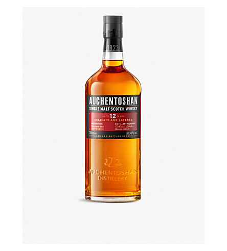 AUCHENTOSHAN 12-Year-Old single malt scotch whisky 700ml