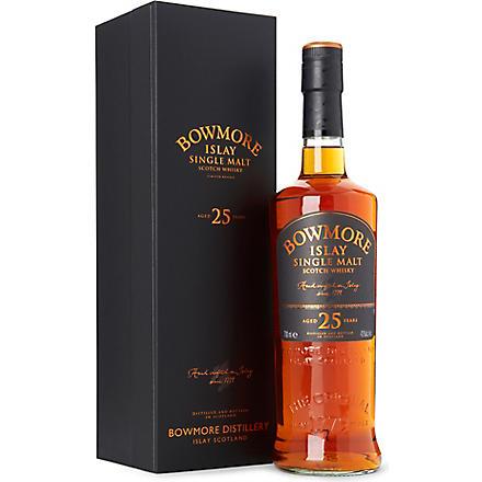 BOWMORE 25 year old single malt Scotch whisky 700ml