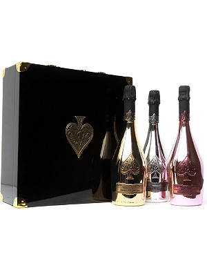 NONE Ace of Spades Trilogie gift box 3 x 750ml