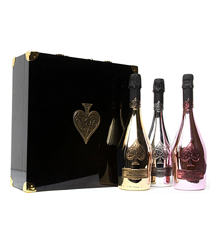 ARMAND DE BRIGNAC Ace of Spades Trilogie gift box 3 x 750ml