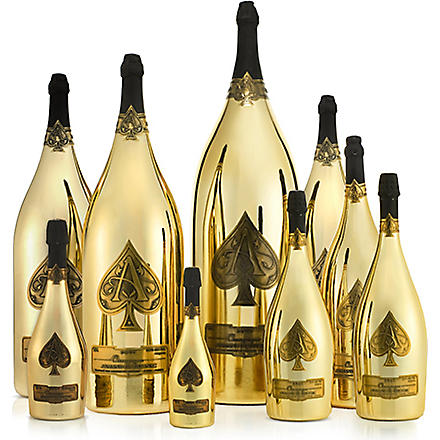 ARMAND DE BRIGNAC Ace of Spades Dynasty champagne set