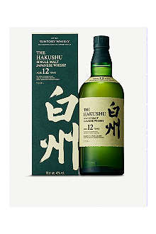 SUNTORY Hakushu 12 year old 700ml