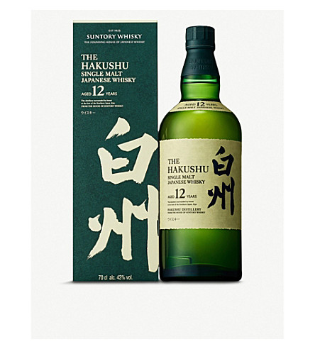 SUNTORY Hakushu 12 year old whisky 700ml