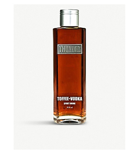 THUNDER Thunder Toffee vodka 700ml
