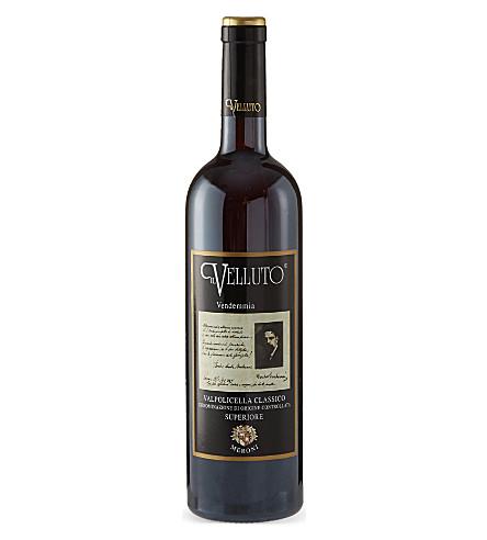 ITALY Il Velluto Vendemmia 2007 750ml