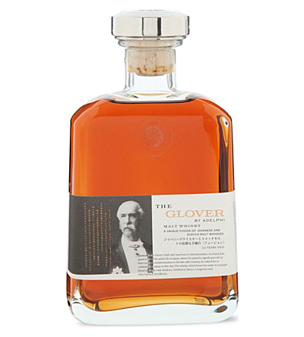 WORLD WHISKEY The Glover 22-year-old whisky 700ml