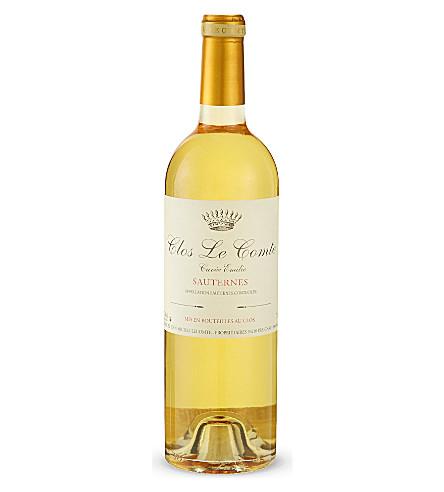 BORDEAUX Sauternes, Clos Le Comte, Cuvée Emilie 750ml