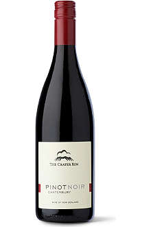 THE CRATER RIM Pinot Noir Canterbury 2010 750ml