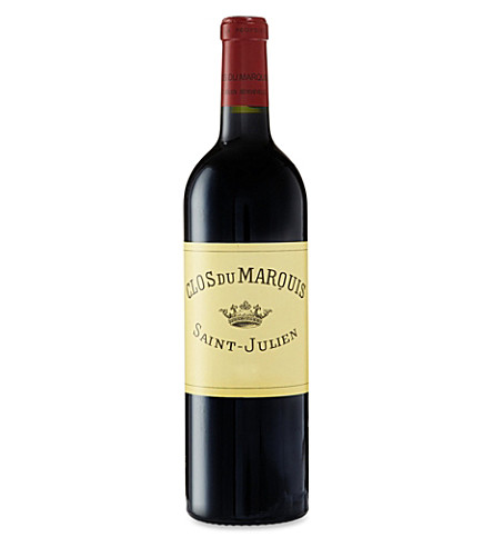 CLOS DU MARQUIS Saint-Julien 2010 750ml