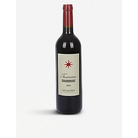 CASTELLO DEL TERRICIO Tassinaia 2004 750ml