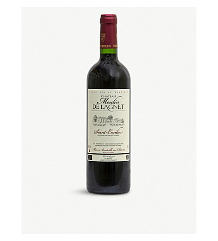 CHATEAU MOULIN DE LAGNET St Emillon 750ml