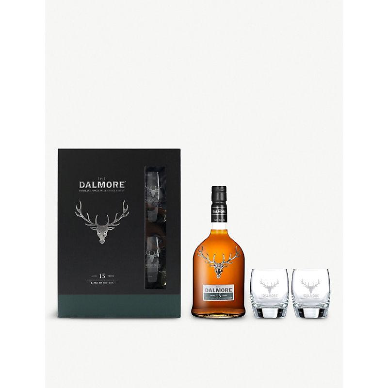 Dalmore Scotch and glasses set 700ml