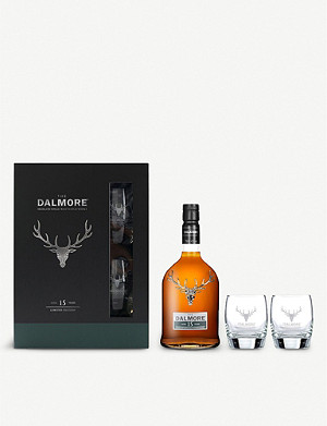 DALMORE Scotch and glasses set 700ml