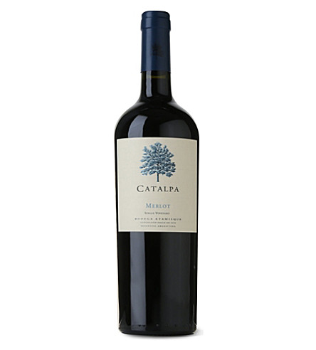 ARGENTINA Atamisque Catalpa Merlot 07/09 750ml