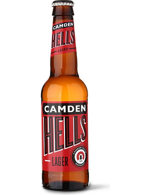 CAMDEN TOWN BREWERY Hells lager 330ml