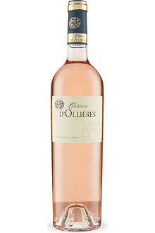 Chateau ollieres rose provence 750ml