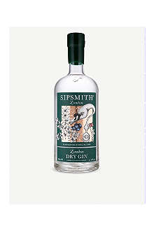SIPSMITH Dry London gin 350ml