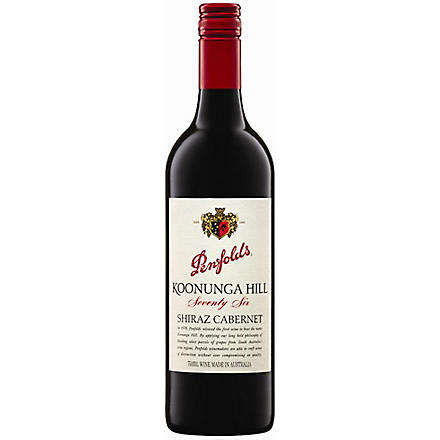 PENFOLDS Penfolds koonunga hill retro 76 750ml