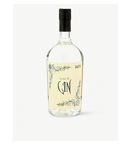 GIN Berto london dry gin 700ml
