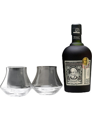 DIPLOMATICO Rum with hip flask 700ml