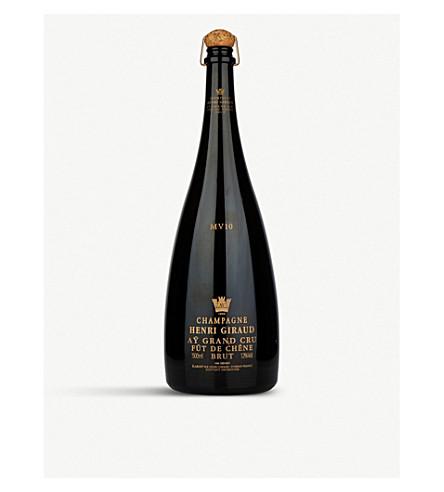 HENRI GIRAUD MV10 Grand Cru Fût de Chêne champagne 1.5l