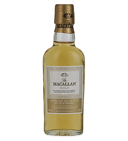 MACALLAN Highland single malt Scotch whiskey 50ml