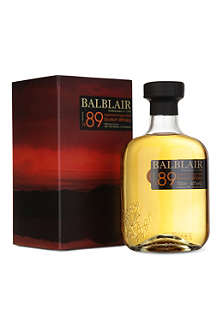 BALBLAIR Balblair 1989 vintage (3rd release) scotch whisky 700ml