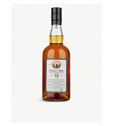 WORLD WHISKEY Hanyu 2000 15 year-old single malt whisky 700ml