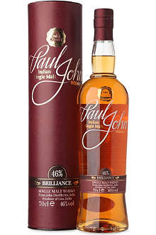 PAUL JOHN Brilliance single malt whisky 700ml
