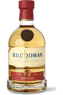 KILCHOMAN 100% Islay single malt Scotch whisky 700ml