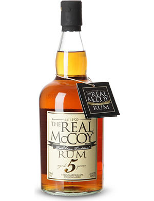 NONE The real mccoy 5 year rum 700ml