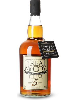 RUM The real mccoy 5 year rum 700ml