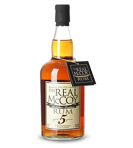 RUM The real mccoy 5 year rum 700ml