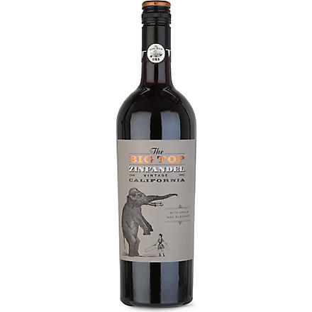 Zinfandel red wine 750ml