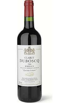 DUBOSCQ Duboscq Claret, Bordeaux 750ml