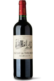 CHATEAU LA TOUR DE MONS Rouge 2007 750ml
