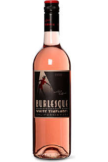 BURLESQUE White zinfandel rosé 750ml