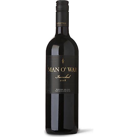 MAN O' WAR Ironclad 750ml