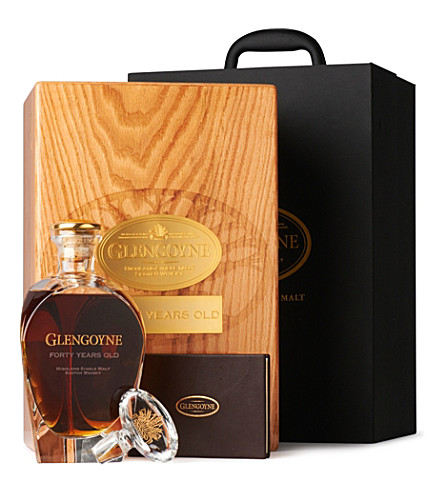 GLENGOYNE 40 year old single malt 700ml