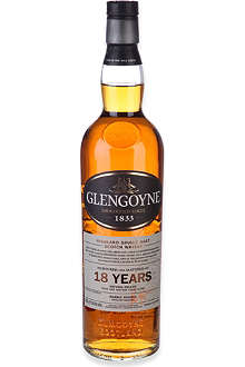 GLENGOYNE 18 Year Old Highland Single Malt Scotch Whisky 700ml