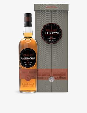 GLENGOYNE 18 Year Old Highland Single Malt Scotch Whisky 700ml