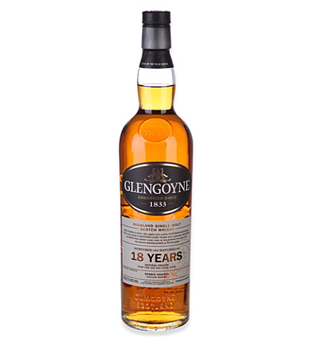 GLENGOYNE 18-year-old Highland single malt Scotch whisky 700ml