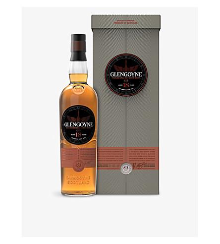 GLENGOYNE 18 岁高地单麦芽威士忌威士忌700ml