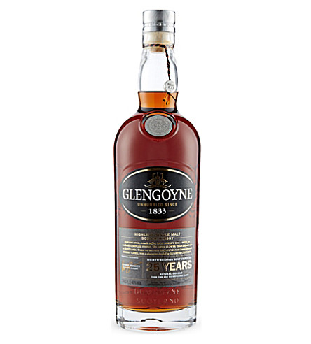 GLENGOYNE Glengoyne 25 year old whisky 700ml