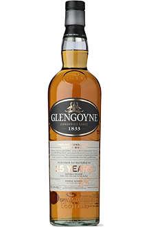 GLENGOYNE 15 year old Highland single malt Scotch whisky 700ml