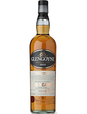 GLENGOYNE 15 year old Highland single malt Scotch whisky 700ml